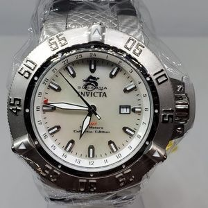 Invicta 50mm Subaqua Noma III Quartz GMT MOP Watch